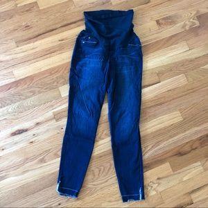 Joe's Jeans full panel maternity ankle jeans